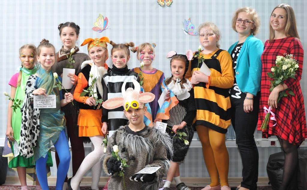 Закрытие I Театрального фестиваля Acadia School
